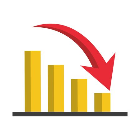 executive business finance porject infographic dates cartoon vector illustration graphic design Ilustração