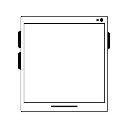 tablet icon cartoon isolated vector illustration graphic design Illusztráció