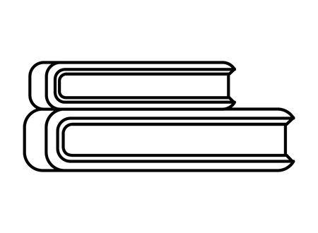 pile text books library icon vector illustration design Ilustracja