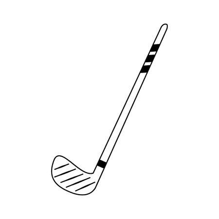 Sport golf club equipment vector illustration graphic design Illustration
