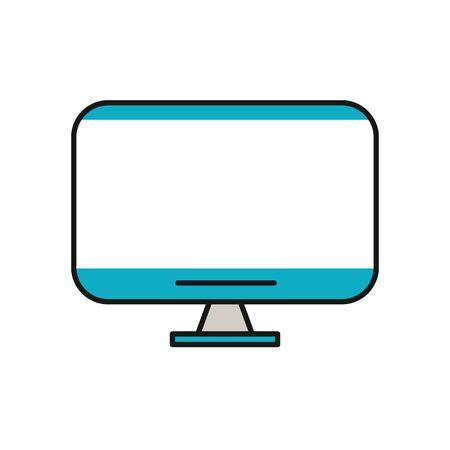 tv display device vector illustration design Ilustração
