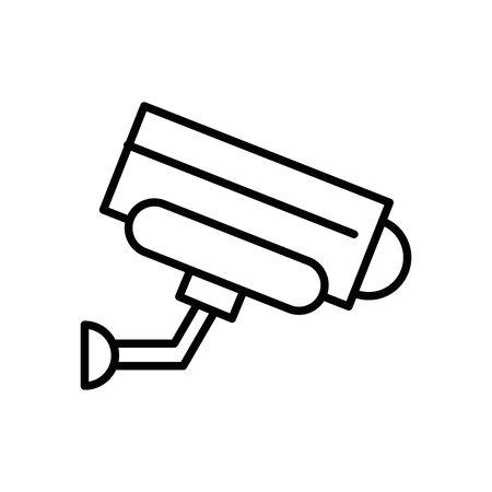cctv camera video isolated icon vector illustration design