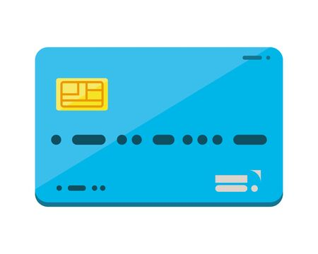 credit card money isolated icon vector illustration design
