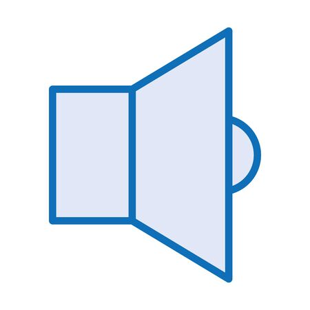 sound speaker audio device icon vector illustration design Çizim