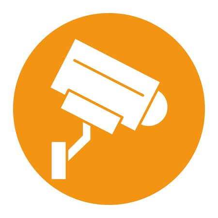 cctv camera video isolated icon vector illustration design