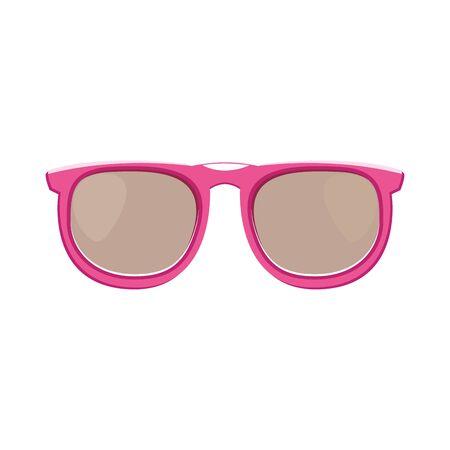 sunglasses iconover white background, vector illustration