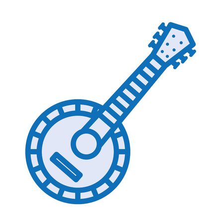 guitar musical instrument isolated icon vector illustration design