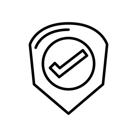 check symbol like isolated icon vector illustration design Ilustração