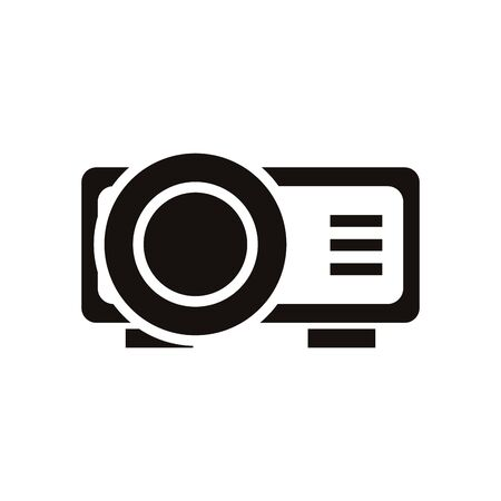 video bean player isolated icon vector illustration design