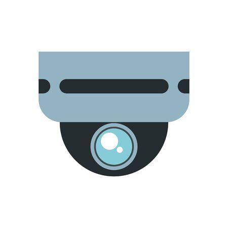 cctv video camera device isolated icon vector illustration design Ilustracja