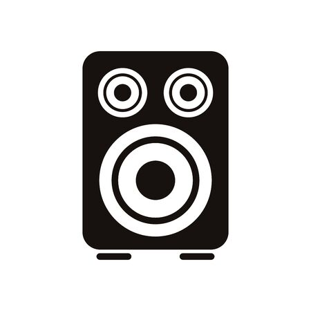 speaker audio music isolated icon vector illustration design