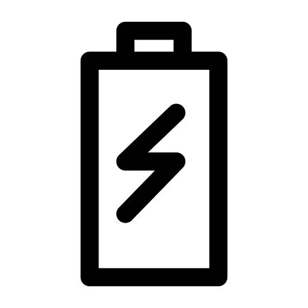 battery power user interface isolated icon vector illustration design