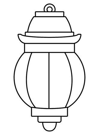 Antique paper light cartoon isolated vector illustration graphic design