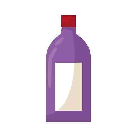 drink bottle icon over white background, colorful design. vector illustration