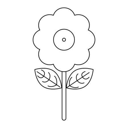 Joke flower with water shoot Designe Ilustração
