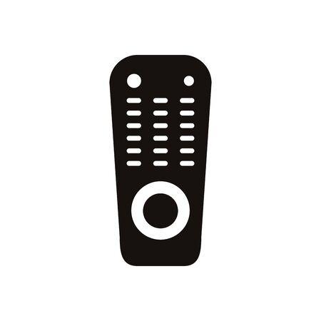 tv control device isolated icon vector illustration design