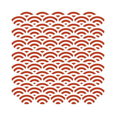 waves and lines pattern background vector illustration design
