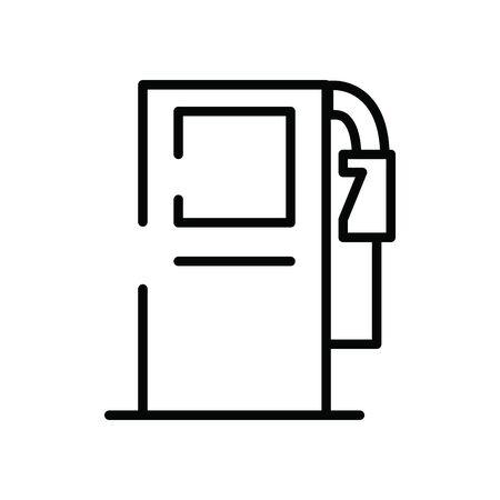 fuel oil station service icon vector illustration design