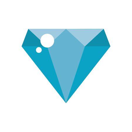 diamond stone rock luxury icon vector illustration design