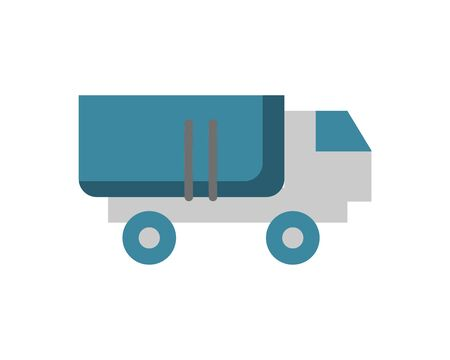 military force truck isolated icon vector illustration design