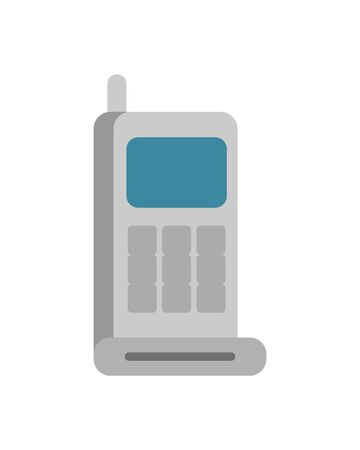 communicator radio military force isolated icon vector illustration design