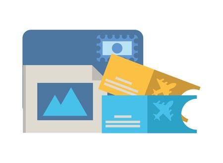 credit card ecommerce with picture file vector illustration design Stock Illustratie
