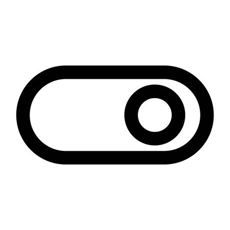 power on button isolated icon vector illustration design