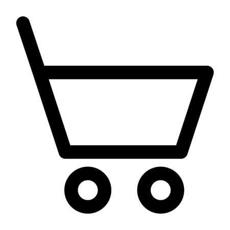shopping cart commercial isolated icon vector illustration design 일러스트