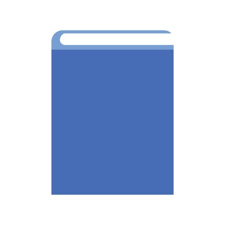 book icon over white background, vector illustration