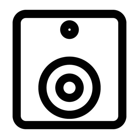sound speaker audio device icon vector illustration design Ilustrace