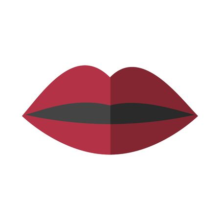 mouth female sexy isolated icon vector illustration design