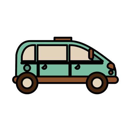 car vehicle auto isolated icon vector illustration design