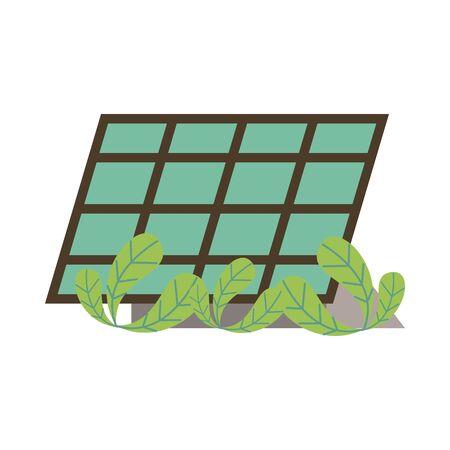panel solar alternative energy icon vector illustration design