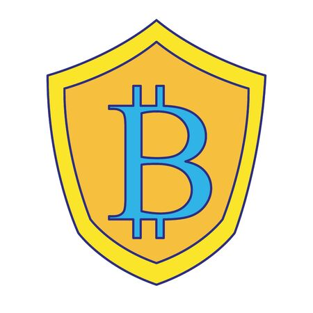 Bitcoin design, Money finance commerce market payment invest and buy theme Vector illustration