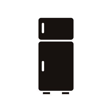 fridge home appliance isolated icon vector illustration design Illustration