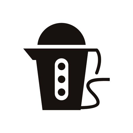 coffee machine home appliance isolated icon vector illustration design