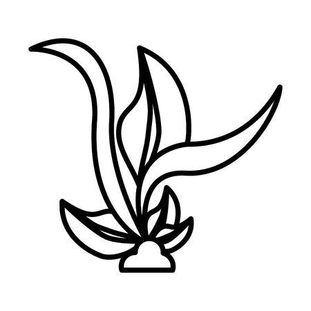 plant ecology cultivating isolated icon vector illustration design Ilustração