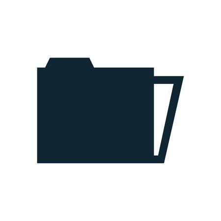 folder file document isolated icon vector illustration design Stockfoto - 142066757