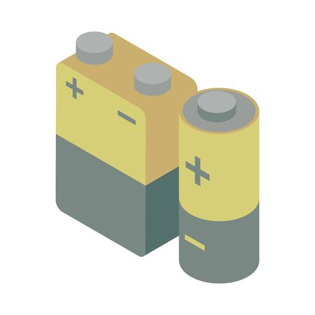 battery power level isolated icon vector illustration design