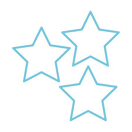 stars symbol line style icon vector illustration design 版權商用圖片 - 142085352