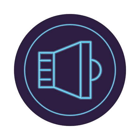 speaker audio symbol isolated icon vector illustration graphic design
