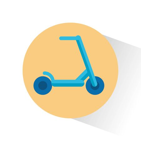 skate baby toy isolated icon vector illustration design