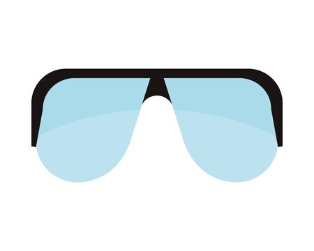 goggles protection glasses isolated icon vector illustration design