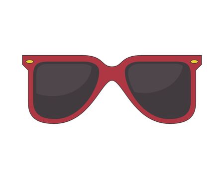 summer sunglasses fashion accessory icon vector illustration design