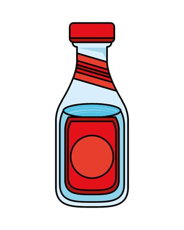water bottle songkran festival icon vector illustration design