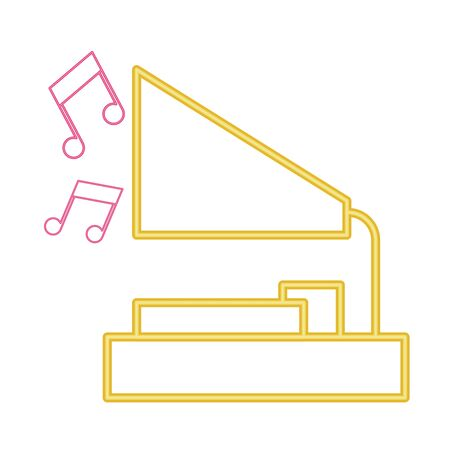 vintage gramophone icon image vector illustration design Иллюстрация