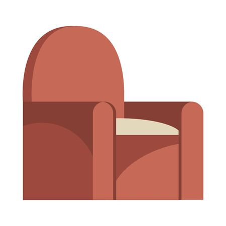 sofa livingroom forniture isolated icon vector illustration design  イラスト・ベクター素材