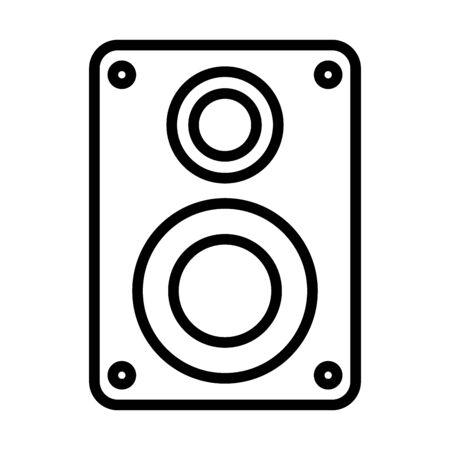 sound speaker audio device icon vector illustration design 向量圖像
