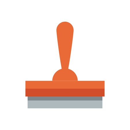 glass cleaner tool flat style icon vector illustration design Vectores