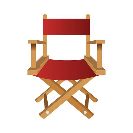 chair of director isolated icon vector illustration design Illustration